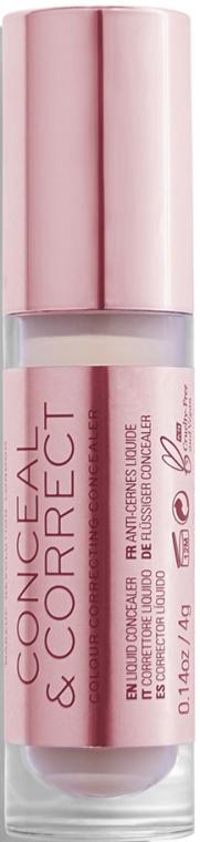 Korekčný korektor pre tvár - Makeup Revolution Conceal And Correct