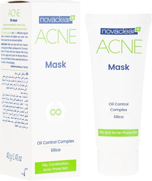 Zmatňujúca maska na tvár - Novaclear Acne Mask