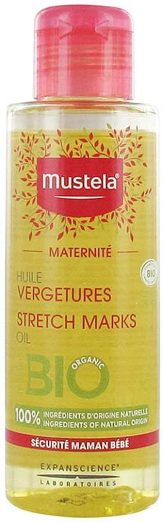 Neparfumovaný olej proti striám - Mustela Maternity Stretch Marks Oil Fragrance-Free