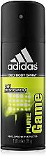 Voňavky, Parfémy, kozmetika Adidas Pure Game - Dezodorant