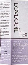 """Voňavky, Parfémy, kozmetika Bio-olej pre nohy """"Zvlhčovanie a zmäkčovanie"""" - ECO Laboratorie Lovecoil Foot Bio Oil"""