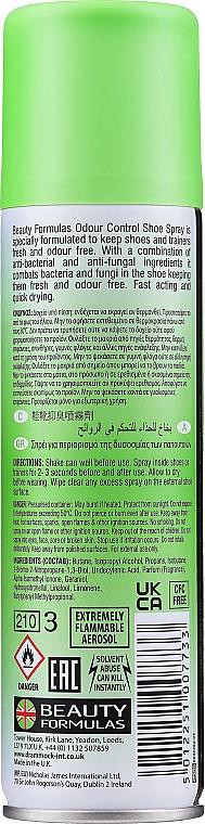 Deodorant na topánky - Beauty Formulas Shoe Odour Control Spray — Obrázky N2