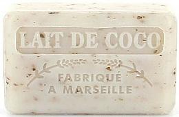 """Voňavky, Parfémy, kozmetika Marseillské mydlo """"Kokosové mlieko"""" - Foufour Savonnette Marseillaise"""