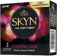 Voňavky, Parfémy, kozmetika Kondómy, 3 ks - Unimil Skyn Cocktail Club