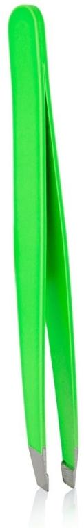 """Pinzeta naklonená """"Neon Show"""", 4108, zelená - Donegal Slant Tip Tweezers — Obrázky N1"""