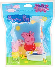 """Voňavky, Parfémy, kozmetika Detská špongia do kúpeľa """"Peppa pig"""", Peppa s lopotou - Suavipiel Peppa Pig Bath Sponge"""