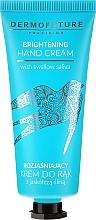 Voňavky, Parfémy, kozmetika Zosvetľujúci krém na ruky - Dermofuture Brightening Hand Cream