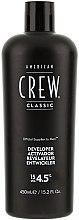 Voňavky, Parfémy, kozmetika Vyvíjač do systému maskovania sivých vlasov - American Crew Precision Blend Developer 15 Vol 4.5%