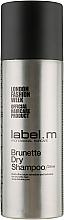 Voňavky, Parfémy, kozmetika Suchý šampón pre brunette - Label.m Brunette Dry Shampoo