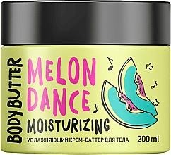 """Voňavky, Parfémy, kozmetika Hydratačné krémové maslo na telo """"Dyňa"""" - MonoLove Bio Melon Dance Body Butter"""