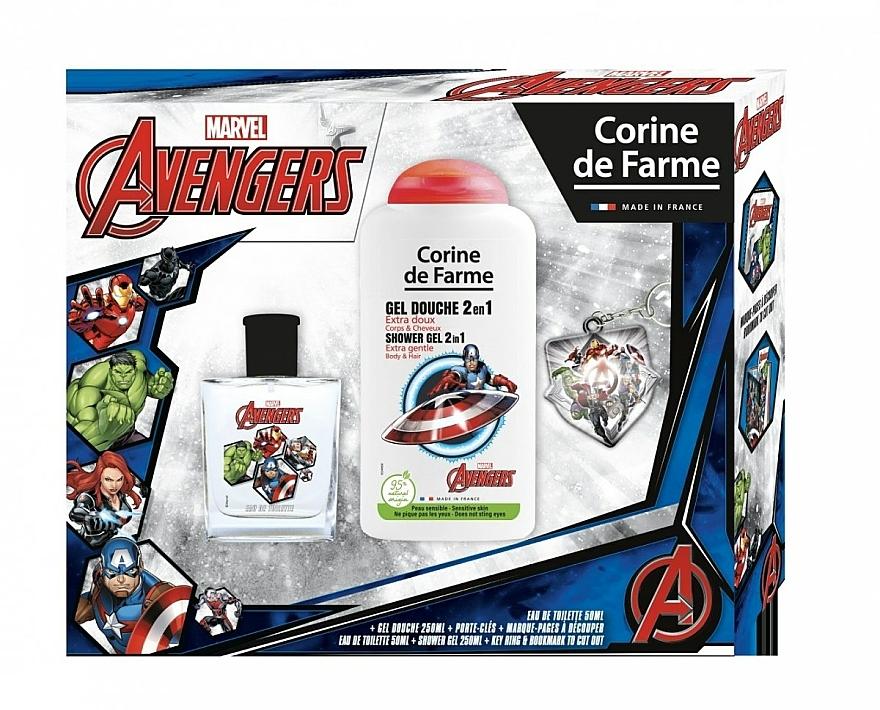Marvel The Avengers - Sada (edt/50ml + sh/gel/250ml)