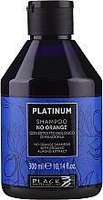 Voňavky, Parfémy, kozmetika Šampón s rastlinným extraktom z mandlí na neutralizáciu oranžových a medených odtieňov - Black Professional Line Platinum No Orange Shampoo With Organic Almond Extract