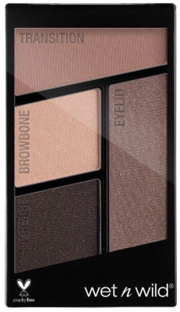 Paleta očných tieňov - Wet N Wild Color Icon Eyeshadow Quad — Obrázky E337 - Silent Treatment