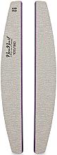 Voňavky, Parfémy, kozmetika Pilník a leštička na nechty 100/180, polkruh - NeoNail Professional