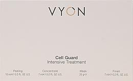 Voňavky, Parfémy, kozmetika Sada - Vyon Gell Guard Intensive Treatment (peel/10ml + conc/7ml + mask/25g + finish/7ml)