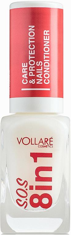Prípravok na nechty - Vollare Cosmetics SOS 8in1