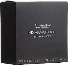 Voňavky, Parfémy, kozmetika Sypký púder s HD efektom - Pierre Rene Professional HD Microfinish Loose Powder
