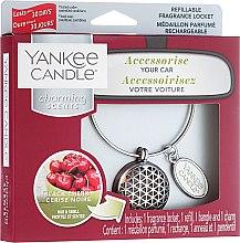 Voňavky, Parfémy, kozmetika Arómatizator do auta - Yankee Candle Charming Scents Black Cherry Set