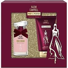 Voňavky, Parfémy, kozmetika Naomi Campbell Pret a Porter Absolute Velvet - Sada (edt/15ml + b/lot/50ml)