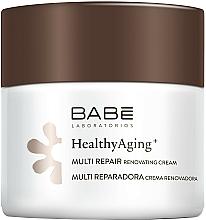 Voňavky, Parfémy, kozmetika Nočný multiregeneračný krém s protistarnúcim komplexom - Babe Laboratorios Healthy Aging Multi Repair Renovating Cream