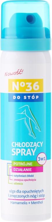 3v1 chladiaci sprej na nohy - Pharma CF No36 Foot Spray 3In1