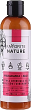 Voňavky, Parfémy, kozmetika Kondicionér na farbené vlasy s makadamiovým olejom - Favorite Nature Macadamia & Algae