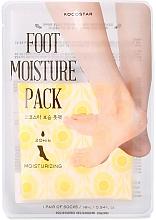 Voňavky, Parfémy, kozmetika Hydratačná maska na starostlivosť o nohy - Kocostar Foot Moisture Pack Yellow