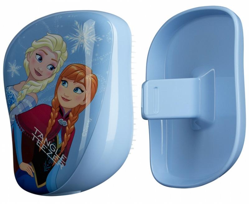 Kompaktná kefka na vlasy - Tangle Teezer Compact Styler Disney Frozen Brush — Obrázky N1
