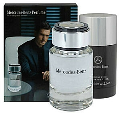 Voňavky, Parfémy, kozmetika Sada - Mercedes-Benz Mercedes-Benz For Men (edt/75ml + deo/75g)