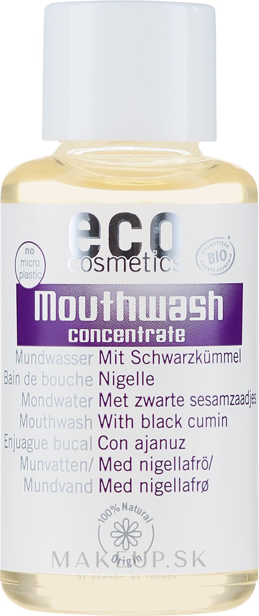 Kondicionér perorálny koncentrát s extraktom z čierneho kmeňa - Eco Cosmetics Mouthwash — Obrázky 50 ml