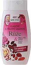 """Voňavky, Parfémy, kozmetika Šampón na vlasy """"Ruža"""" - Bione Cosmetics Rose Shampoo"""