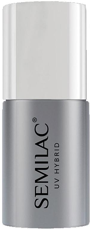 Vrchný lak na UV laky na nechty bez lepkavej vrstvy - Semilac Top No Wipe Sparkle Diamond