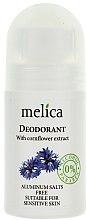 Voňavky, Parfémy, kozmetika Deodorant s výťažkami z nevädze - Melica Organic With Camomile Extract Deodorant