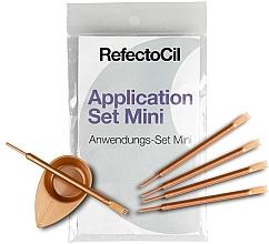 Voňavky, Parfémy, kozmetika Sada na farbenie obočia a mihalníc - RefectoCil Application Set Mini Rose Gold (5ks)