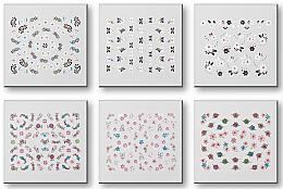 Voňavky, Parfémy, kozmetika Sada nálepiek na nechty 42959 - Top Choice Nail Decorations Stickers Set