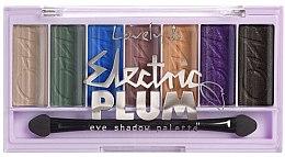 Voňavky, Parfémy, kozmetika Paleta očných tieňov - Lovely Electric Plum Eyeshadow