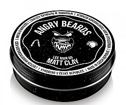 Voňavky, Parfémy, kozmetika Hlina na vlasy - Angry Beards Lee Man Go Matt Clay