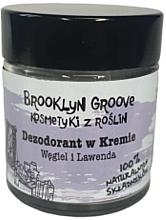 Voňavky, Parfémy, kozmetika Krémový dezodorant s vôňou levandule a citrónovej trávy - Brooklyn Groove Deodorant Cream