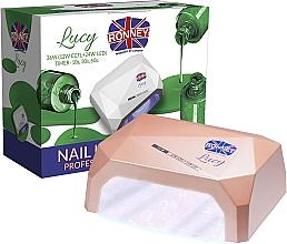 Voňavky, Parfémy, kozmetika Lampa CCFL+LED, kávová - Ronney Profesional Lucy CCFL + LED 36W (GY-LCL-021) Lamp