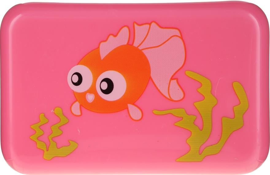 Detská mydlovnička, 6024, ružové s rybičkou - Donegal