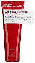 Voňavky, Parfémy, kozmetika Hydratačný krém proti lesku - Recipe For Men Anti Shine Moisturize