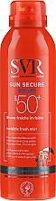 Voňavky, Parfémy, kozmetika Sprej s SPF ochranou - SVR Sun Secure Brume Invisible Fresh Mist SPF 50