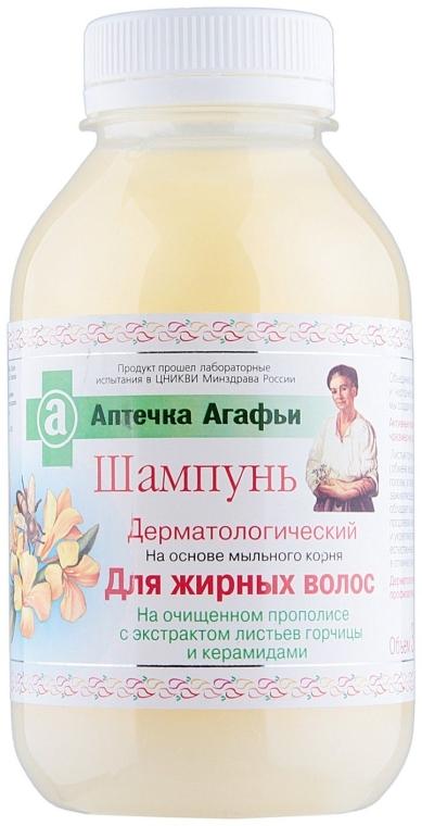 Šampón pre mastné vlasy - Recepty babičky Agafji Lekárnička Agafji