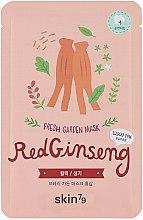 "Voňavky, Parfémy, kozmetika Látková maska na tvár ""Červený ženšen"" - Skin79 Fresh Garden Red Ginseng Mask"