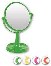 Voňavky, Parfémy, kozmetika Zrkadlo na stojane 85734, okrúhle, 15,5 cm, svetlo zelené - Top Choice Colours Mirror