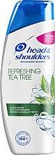 """Voňavky, Parfémy, kozmetika Šampón proti lupinám """"Čajovník"""" - Head & Shoulders Tea Tree Shampoo"""