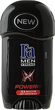 Voňavky, Parfémy, kozmetika Tuhý deodorant pre mužov - Fa Men Xtreme Power+