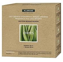 Voňavky, Parfémy, kozmetika Sada - Klorane Oat Milk (shm/200ml + h/balm/200ml)