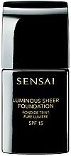 Voňavky, Parfémy, kozmetika Tónovací základ s efektom leska - Kanebo Sensai Luminous Sheer Foundation