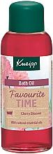 Voňavky, Parfémy, kozmetika Kúpeľový olej Obľúbený čas - Kneipp Favourite Time Cherry Blossom Bath Oil